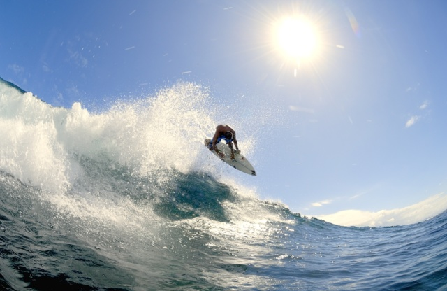 photo surf watershot air soleil